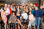 Double birthday celebrations for boyfriend and girlfriend, Victoria Murphy from Ardfert and Eoin Sugrue from Tralee in the Fiddler Bar on Saturday night.<br /> Seated l to r: Bernie Sugrue, Victoria Murphy, Eoin Sugrue and Olivia Murphy.