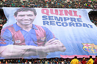Tribute to FC Barcelona's legend Enrique Castro Quini during La Liga match. March 4,2018. (ALTERPHOTOS/Acero) /NortePhoto.com NORTEPHOTOMEXICO