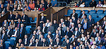Elgin City directors enjoying their day out at Ibrox