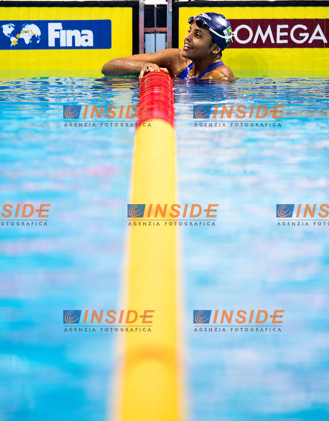 MEDEIROS Etiene BRA Gold Medal<br /> Women's 50m Backstroke<br /> 13th Fina World Swimming Championships 25m <br /> Windsor  Dec. 10th, 2016 - Day05 Final<br /> WFCU Centre - Windsor Ontario Canada CAN <br /> 20161210 WFCU Centre - Windsor Ontario Canada CAN <br /> Photo &copy; Giorgio Scala/Deepbluemedia/Insidefoto