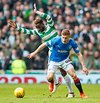11.3.2018 Rangers v Celtic:<br /> Greg Docherty and Moussa Dembele