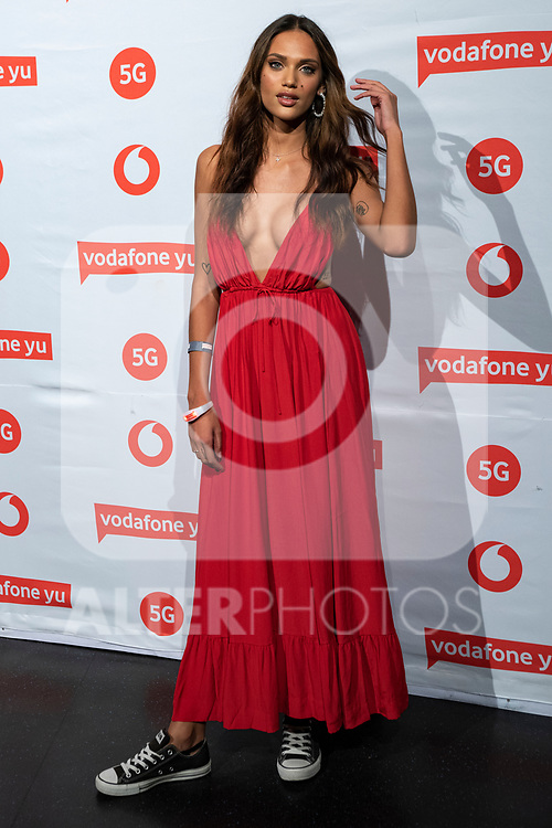 Dalianah Arekion during the photocall of VODAFONE YU MUSIC SHOWS<br /> ESTOPA  in Concert. <br /> <br /> October 2, 2019. (ALTERPHOTOS/David Jar)
