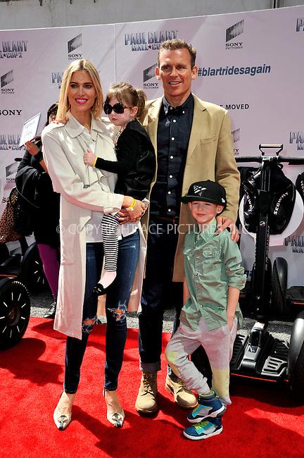 WWW.ACEPIXS.COM<br /> <br /> April 11 2015, New York City<br /> <br /> Kristen Taekman and family arriving at the 'Paul Blart: Mall Cop 2' New York Premiere at AMC Loews Lincoln Square on April 11, 2015 in New York City.<br /> <br /> By Line: Curtis Means/ACE Pictures<br /> <br /> <br /> ACE Pictures, Inc.<br /> tel: 646 769 0430<br /> Email: info@acepixs.com<br /> www.acepixs.com