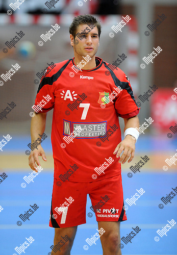 2012-09-15 / Handbal / seizoen 2012-2013 / Sasja Antwerpen / Jasper De Pillecyn..Foto: Mpics.be