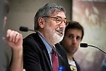 "American director John Landis during the press conference to present the book ""John Landis. Un Hombre Lobo en Hollywood"" in Madrid. May 27, 2016. (ALTERPHOTOS/Borja B.Hojas)"