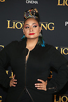 HOLLYWOOD, CA - JULY 9: Raven-Symoné at The Lion King Film Premiere at El Capitan Theatre in Hollywood, California on July 9, 2019. <br /> CAP/MPIFS<br /> ©MPIFS/Capital Pictures
