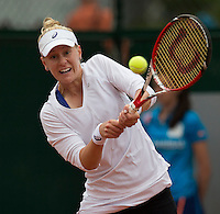 ALISON RISKE (USA)<br /> <br /> Tennis - French Open 2014 -  Toland Garros - Paris -  ATP-WTA - ITF - 2014  - France - 27 May 2014. <br /> <br /> &copy; AMN IMAGES