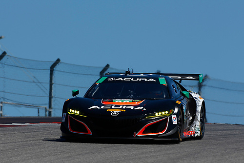 IMSA WeatherTech SportsCar Championship<br /> Advance Auto Parts SportsCar Showdown<br /> Circuit of The Americas, Austin, TX USA<br /> Saturday 6 May 2017<br /> 86, Acura, Acura NSX, GTD, Oswaldo Negri Jr., Jeff Segal<br /> World Copyright: Phillip Abbott<br /> LAT Images<br /> ref: Digital Image abbott_COTA-0517_20037