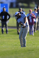 Stephan Jaeger (GER) chips onto the 6th green during Sunday's Final Round of the 2018 AT&amp;T Pebble Beach Pro-Am, held on Pebble Beach Golf Course, Monterey,  California, USA. 11th February 2018.<br /> Picture: Eoin Clarke | Golffile<br /> <br /> <br /> All photos usage must carry mandatory copyright credit (&copy; Golffile | Eoin Clarke)
