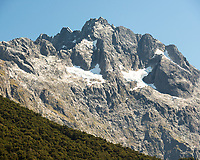 Mount Lyttle 1899m of Darran Mountains, Fiordland National Park, UNESCO World Heritage Area, Southland, New Zealand, NZ