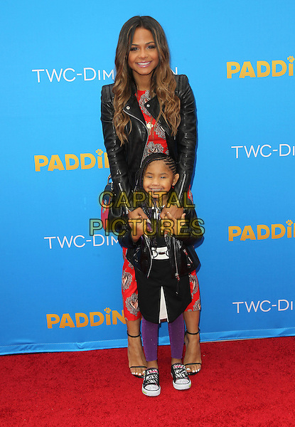 10 January  2015 - Hollywood, California - Christina Milian, Violet Nash. &quot;Paddington&quot; Los Angeles Premiere held at TCL Chinese Theatre IMAX.  <br /> CAP/ADM/FS<br /> &copy;FS/ADM/Capital Pictures