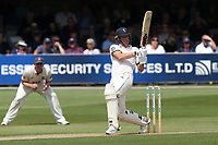 Matt Fisher in batting action for Yorkshire during Essex CCC vs Yorkshire CCC, Specsavers County Championship Division 1 Cricket at The Cloudfm County Ground on 7th July 2019