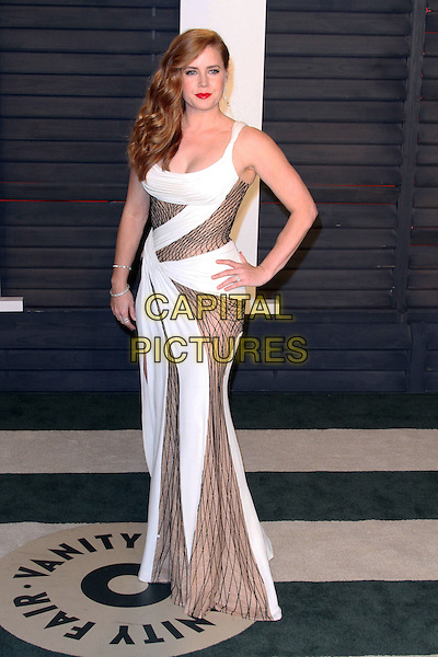28 February 2016 - Beverly Hills, California - Amy Adams. 2016 Vanity Fair Oscar Party hosted by Graydon Carter following the 88th Academy Awards held at the Wallis Annenberg Center for the Performing Arts. <br /> CAP/ADM<br /> &copy;ADM/Capital Pictures