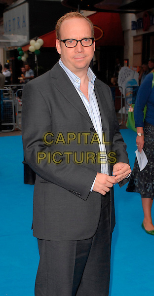 "PAUL GIAMATTI.""Lady In The Water"" - UK film Premiere, Vue West End, London, UK..August 8th, 2006.Ref: CAN.half length grey gray suit jacket glasses.www.capitalpictures.com.sales@capitalpictures.com.©Can Nguyen/Capital Pictures"