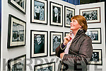 Kathleen O'Loughlin enjoying pictures at official opening of the the the Faces of Fenit exhibition at the Kerry County Library Tralee on Tuesday