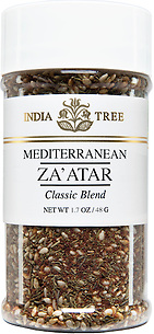 30572 Mediterranean Za'atar, Small Jar 1.7 oz, India Tree Storefront