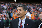 18 November 2007: DC United co-managing partner William H.C. Chang. The Houston Dynamo defeated the New England Revolution 2-1 at RFK Stadium in Washington, DC in MLS Cup 2007, Major League Soccer's championship game.