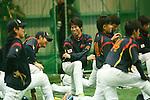 Kenta Maeda (JPN), .MARCH 1, 2013 - WBC : .2013 World Baseball Classic .Japan team training .in Fukuoka, Japan. .(Photo by YUTAKA/AFLO SPORT)
