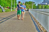Stroll along Centennial Park waterfront