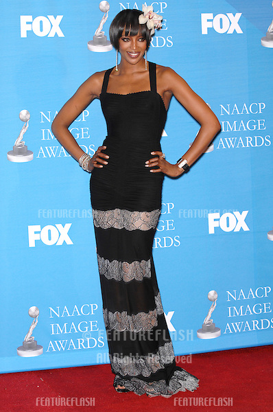 Naomi Campbell at the 38th NAACP Image Awards at the Shrine Auditorium, Los Angeles. .March 3, 2007  Los Angeles, CA.Picture: Paul Smith / Featureflash
