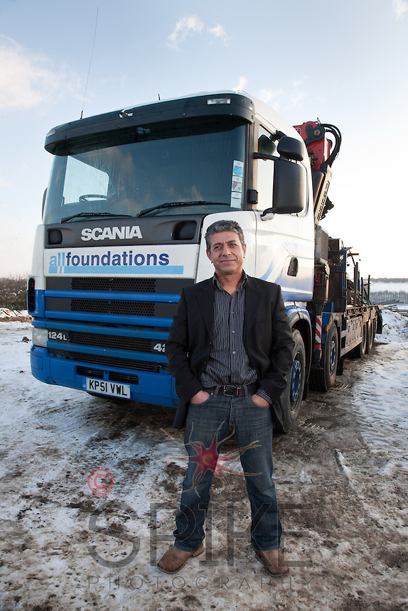 Shahrooz Zojaji of All Foundations of Blackwell, Derbyshire
