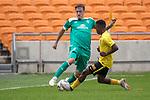 06.01.2019, FNB Stadion/Soccer City, Nasrec, Johannesburg, RSA, FSP , SV Werder Bremen (GER) vs Kaizer Chiefs (ZA)<br /> <br /> im Bild / picture shows <br /> <br /> Max Kruse (Werder Bremen #10)<br /> #Khotso Malope (Kaizer Chiefs #35)<br /> <br /> Foto &copy; nordphoto / Kokenge