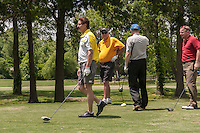 Collierville Chamber members and guest help raise money at the annual golf classic. The Collierville Chamber Golf Classic was held at Memphis National.