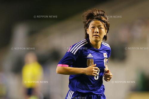 Aya Miyama (JPN), <br /> MAY 6, 2014 - Football /Soccer :  <br /> International friendly match<br /> between Japan 2-1 New Zealand <br /> at Kincho Stadium, Osaka, Japan. (Photo by Yohei Osada/AFLO SPORT)
