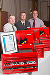 17/07/2015 The IRTE Skills Challenge 2015 prize-giving takes place at The National Motorcycle Museum, Birmingham. IRTE Outstanding Team Award goes to FirstGroup team Andrew  Howie, Tim Laws-Chapman and Ray Silcox.