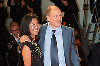 Woody Harrelson, Laura Louie at the &quot;Three Billboards Outside Ebbing, Missouri&quot; premiere, 74th Venice Film Festival in Italy on 4 September 2017.<br /> <br /> Photo: Kristina Afanasyeva/Featureflash/SilverHub<br /> 0208 004 5359<br /> sales@silverhubmedia.com