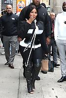 NEW YORK, NY- October 8: Lil' Kim at Strahan, Sara & Keke in New York City on October 08, 2019 <br /> CAP/MPI/RW<br /> ©RW/MPI/Capital Pictures