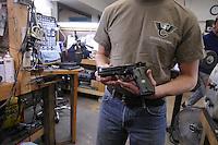 NWA Media/ J.T. Wampler - Wilson Combat has partnered with Beretta on the new Beretta/Wilson 92G Brigadier Tactical pistol. Wilson Combat is a top tier custom gun maker located near Berryville.