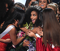 2019 MISS USA: Miss North Carolina, Chelsie Kryst is named the new Miss USA at the 2019 MISS USA airing Thursday, May 2 (8:00-10:00 PM ET live/PT tape-delayed) on FOX. (Photo by Frank Micelotta/FOX/PictureGroup)