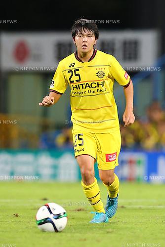Yusuke Kobayashi (Reysol), <br /> SEPTEMBER 20, 2015 - Football /Soccer : <br /> 2015 J1 League 2nd stage match between <br /> Kashiwa Reysol 0-0 Montedio Yamagata<br /> at Kashiwa Hitachi Stadium, in Chiba, Japan. <br /> (Photo by Yohei Osada/AFLO SPORT)