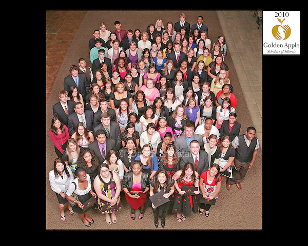 Golden Apple Scholars Induction 2010 at Depaul University
