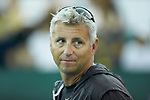 Wake Forest Demon Deacons head coach Tony Bresky during the finals of the 2018 NCAA Men's Tennis Singles Championship at the Wake Forest Indoor Tennis Center on May 28, 2018 in Winston-Salem, North Carolina. Petros Chrysochos defeated teammate Borna Gojo 6-3 6-3.  (Brian Westerholt/Sports On Film)