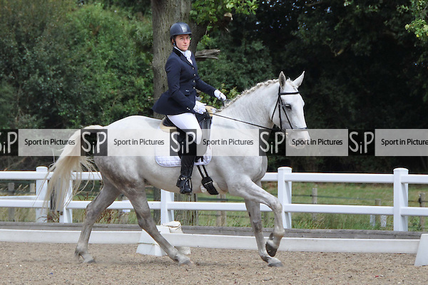 Class 3. Unaffiliated dressage. Brook Farm Training Centre. Essex. 21/08/2016. MANDATORY Credit Bronwyn Stevens/Sportinpictures - NO UNAUTHORISED USE - 07837 394578