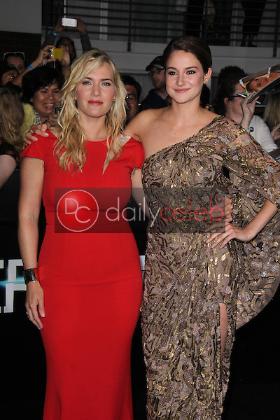 Kate Winslet, Shailene Woodley<br />