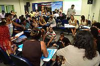 RIO DE JANEIRO, RJ, 15.12.2014 - FORUM TERRITORIAL DOS CENTROS URBANOS UNICEF - Forum Territorial dos Centros Urbanos da Unicef na Faculdade Estacio no bairro de Madureira regiao norte do Rio de Janeiro, nesta segunda-feira, 15. (Foto: Jorge Hely / Brazil Photo Press).