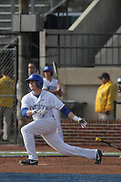 University of Kentucky Wildcats infielder Conner Heady #7 at bat during a game against the University of Virginia Cavaliers at Brooks Field on the campus of the University of North Carolina at Wilmington on February 14, 2014 in Wilmington, North Carolina. Kentucky defeated Virginia by the score of 8-3. (Robert Gurganus/Four Seam Images)