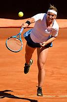 Dominika Cibulkova of Slovakia in action during the match lost  against Naomi Osaka of Japan <br /> Roma 16/05/2019 Foro Italico  <br /> Internazionali BNL D'Italia Italian Open <br /> Photo Andrea Staccioli / Insidefoto