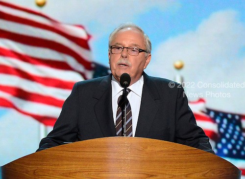 Jim Sinegal, Co-Founder and former CEO of Costco makes remarks at the 2012 Democratic National Convention in Charlotte, North Carolina on Wednesday, September 5, 2012.  .Credit: Ron Sachs / CNP.(RESTRICTION: NO New York or New Jersey Newspapers or newspapers within a 75 mile radius of New York City)
