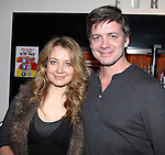 Jennifer Mudge & Chris Henry Coffey attending the Opening Night for the Playwrights Horizons World Premiere Production of 'The Great God Pan' at Playwrights Horizons Theatre in New York City on December 18, 2012