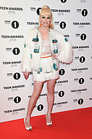 LONDON, UK. October 21, 2018: Courtney Act at tthe BBC Radio 1 Teen Awards 2018 at Wembley Stadium, London.<br /> Picture: Steve Vas/Featureflash