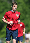 Brian McBride on Tuesday, May 16th, 2006 at SAS Soccer Park in Cary, North Carolina. The United States Men's National Soccer Team held a training session as part of their preparations for the upcoming 2006 FIFA World Cup Finals being held in Germany.