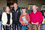 Maeve Doohan, Denis Coleman, Jim and Kathleen Long at the launch of Gooch The Autobiography in the Gleneagle Hotel on Thursday evening