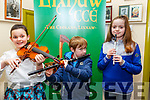 Lixnaw CCE Feile Feabhra: Taking part in the Lixnaw Feile Feabhra at the Cheolan Centre, Lixnaw on Sunday last were Nancy Ni Chonchuir,  Andrew Radican & Noirin Healy.