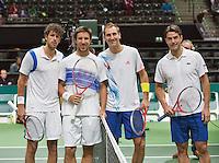 13-02-13, Tennis, Rotterdam, ABNAMROWTT, Thiemo de Bakker / Jesse Huta Galung - Robin Haase / Igor Sijsling