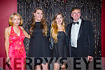 l-r  Maria McGillicuddy, Ciara Cusack, Jade Pope and Michael Dillane enjoying the Tralee Rowing Club Viva Las Vegas Casino Night fundraiser at Benners Hotel