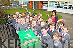 PHONES PLEASE?: Pupils of Dromclough national school, Listowel who are collecting old mobile phones for the Jack and Jill Foundation, with teacher Marion Foran.PHONES PLEASE?: Pupils of Dromclough national school, Finuge who are collecting old mobile phones for the Jack and Jill Foundation, with teacher Marion Foran.